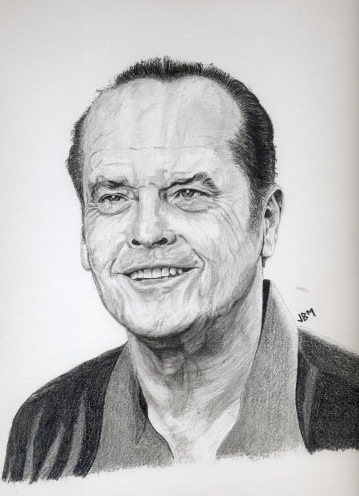 Jack Nicholson by JBM